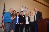 4-Arc of Larimer County and Columbine Health Staff with Gov Hickenlooper