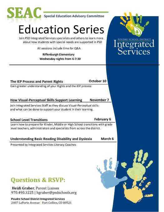 Education Series events