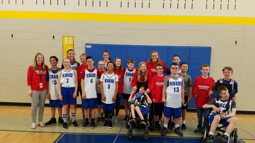 Kinard MS Unified Basketball 2019