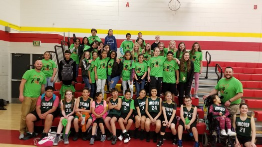 Licoln MS Unified Basketball 2019